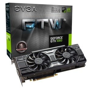 EVGA GeForce GTX 1060 FTW+ GAMING ACX 3.0 6GB GDDR5 DVI-D HDMI 3x DisplayPort PCI-E Graphics Card