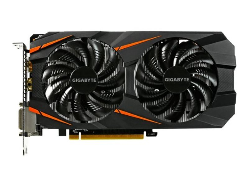 Gigabyte GeForce GTX 1060 Windforce OC 6GB GDDR5 Dual-link DVI-D HDMI DisplayPort PCI-E Graphics Card