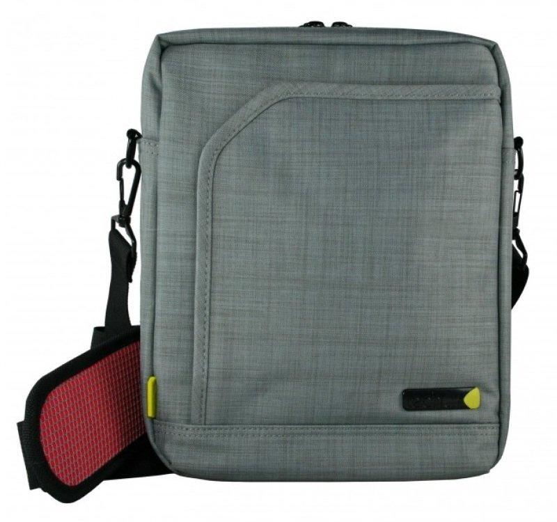 Techair 13.3&quot Grey EVO Portrait Laptop Shoulder Bag TAEVP004