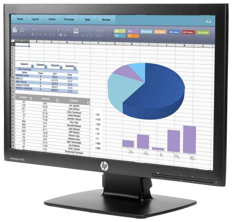 EXDISPLAY HP ProDisplay P202 Monitor UK