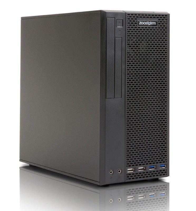 Zoostorm Delta Elite SFF Desktop PC, Intel Pentium G4400, 4GB RAM, 120GB SSD, DVDRW, Intel HD, Windows 10 Pro 64bit