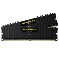 Corsair Vengeance LPX 32GB (2x16GB) DDR4 DRAM 2400MHz C16 Memory Kit - Black