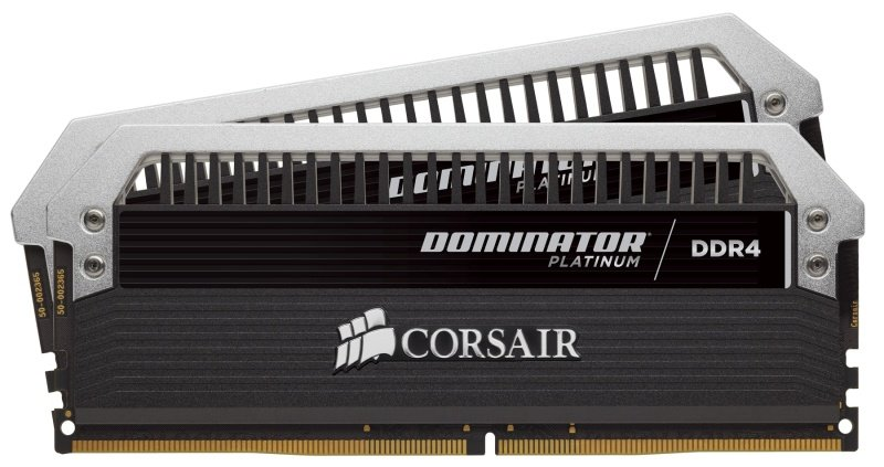Corsair Dominator Platinum Series 16GB (2 x 8GB) DDR4 DRAM 2400MHz C10 Memory Kit