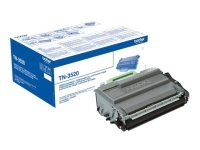 Brother TN3520 Ultra High Yield Original Black Toner - 20,000 pages