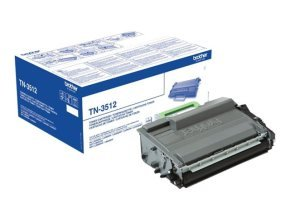 Brother TN-3512 Super High Yield Black Toner - 12,000 Pages
