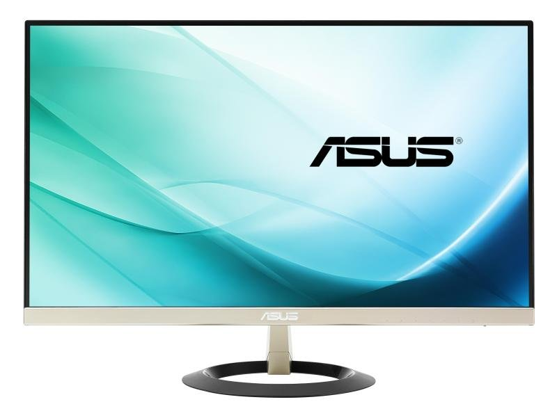 ASUS VZ249H 23.8 Monitor FHD (1920x1080) IPS UltraSlim Design Flicker free Low Blue Light TUV certified
