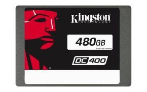"Kingston DC400 480GB 2.5"" SATA Rev. 3.0 6Gb/s SSD"