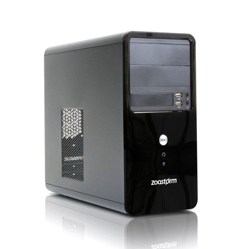 Zoostorm Delta Tower Desktop PC, Intel Core i5-6400 2.7GHz, 8GB RAM, 500GB HDD, DVDRW, Intel HD, Windows 10 Professional