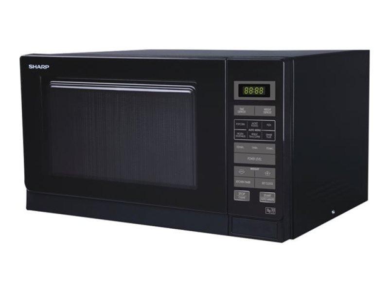 Sharp Microwave 25 Litre Capacity Black