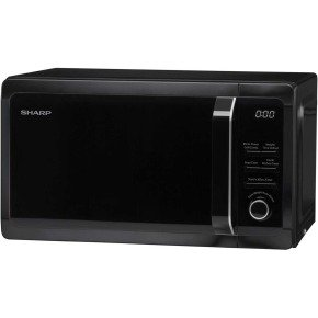 Microwave 20 Litre Capacity Black 800w1 Years Warranty
