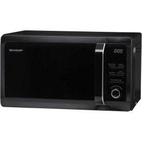 Microwave 20 Litre Capacity Black 800w1 Years Warranty