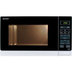 Sharp Microwave 25 Litre Capacity Black / White 900w 1 Year Warranty