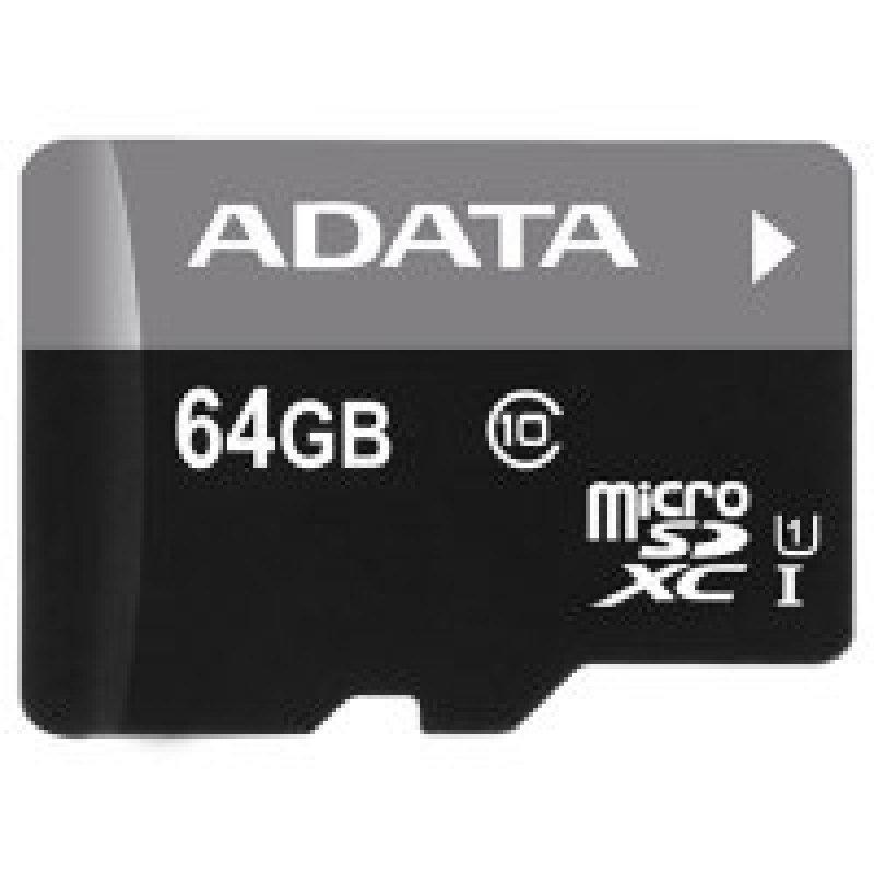ADATA Premier 64GB microSDXC UHSI Memory Card