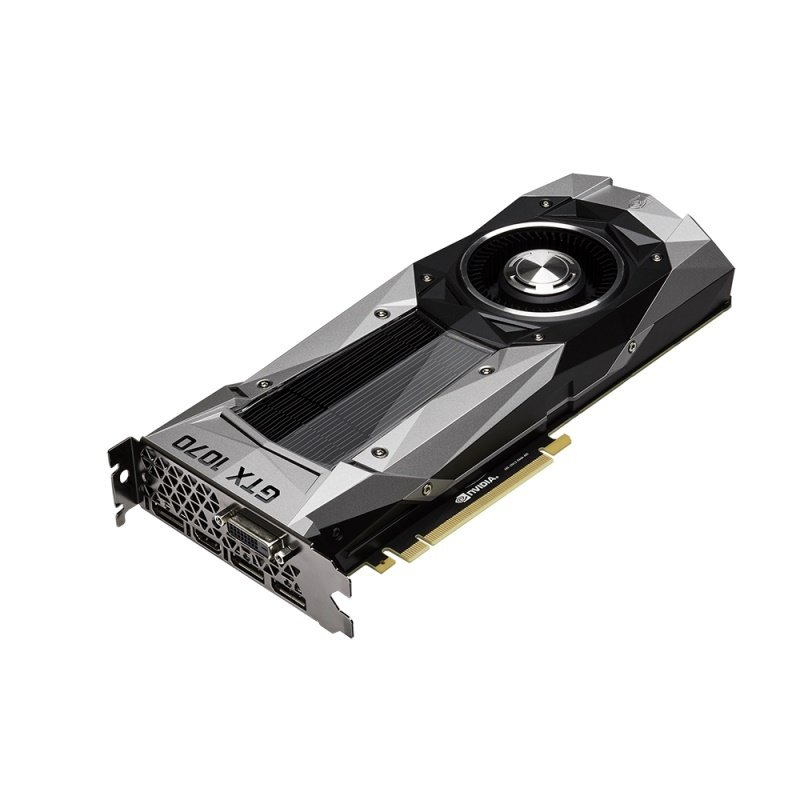 PNY GeForce GTX 1070 Founders Edition 8GB GDDR5 DVI HDMI 3x DisplayPort PCI-E Graphics Card