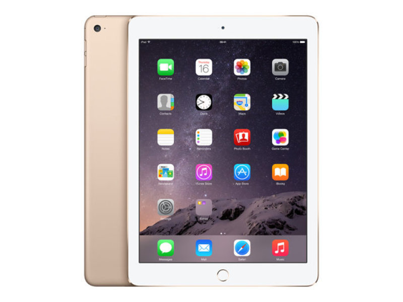 Apple iPad Air 2 A8X CPU 32GB Flash 9.7in Retina Wifi Camera Bluetooth Apple OS 10  Gold