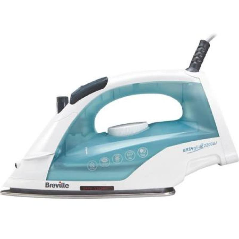 Breville Easy Glide Steam Iron White / Turquoise