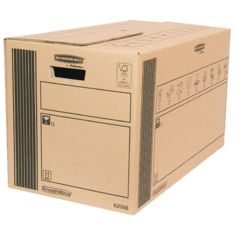 DOUBLE WALL CARGO BOX 660X350X370MM PK10