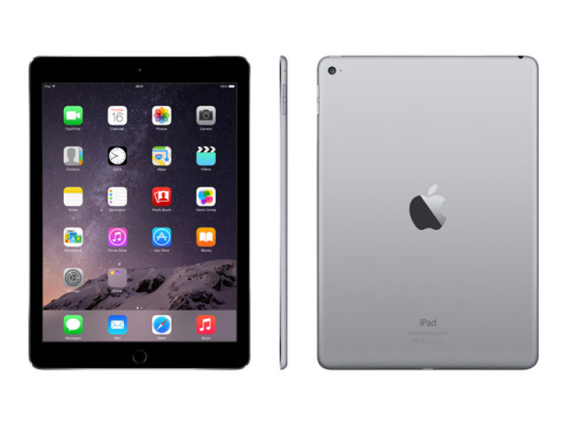 Apple iPad Air 2 A8X CPU 32GB Flash 9.7in Retina Wifi Camera Bluetooth Apple OS 10  Space Grey