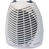 Fan Heater White 2kw 4 Heat Settings 1 Year Warranty