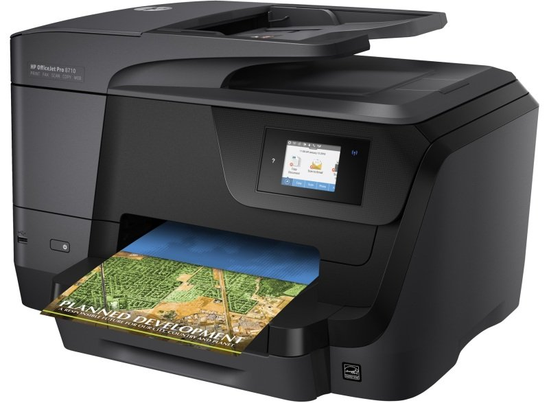 EXDISPLAY HP Officejet Pro 8710 All-in-one Multifunction Wireless Inkjet Printer