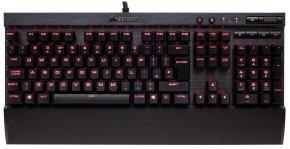 Corsair Gaming K70 LUX Mechanical Keyboard, Backlit Red