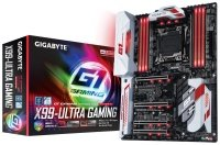 EXDISPLAY Gigabyte GA-X99-Ultra Gaming Socket LGA2011-3 7.1 Channel HD Audio ATX Motherboard