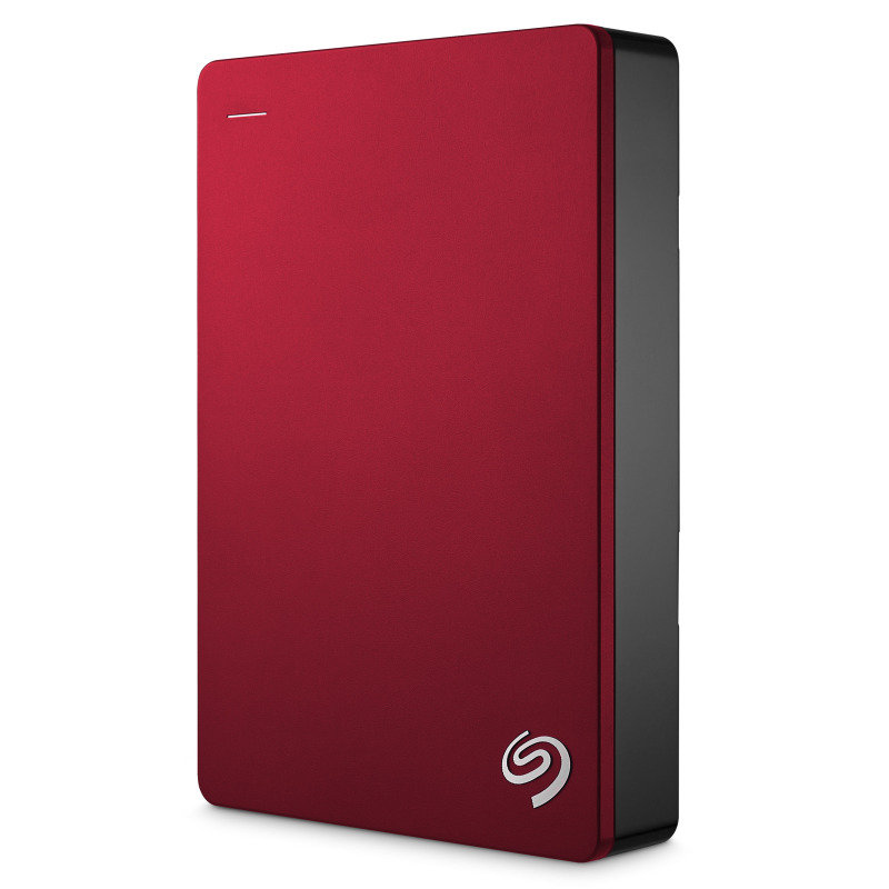 Seagate Backup Plus 4TB USB 3.0 Portable Exernal Hard Drive - Red