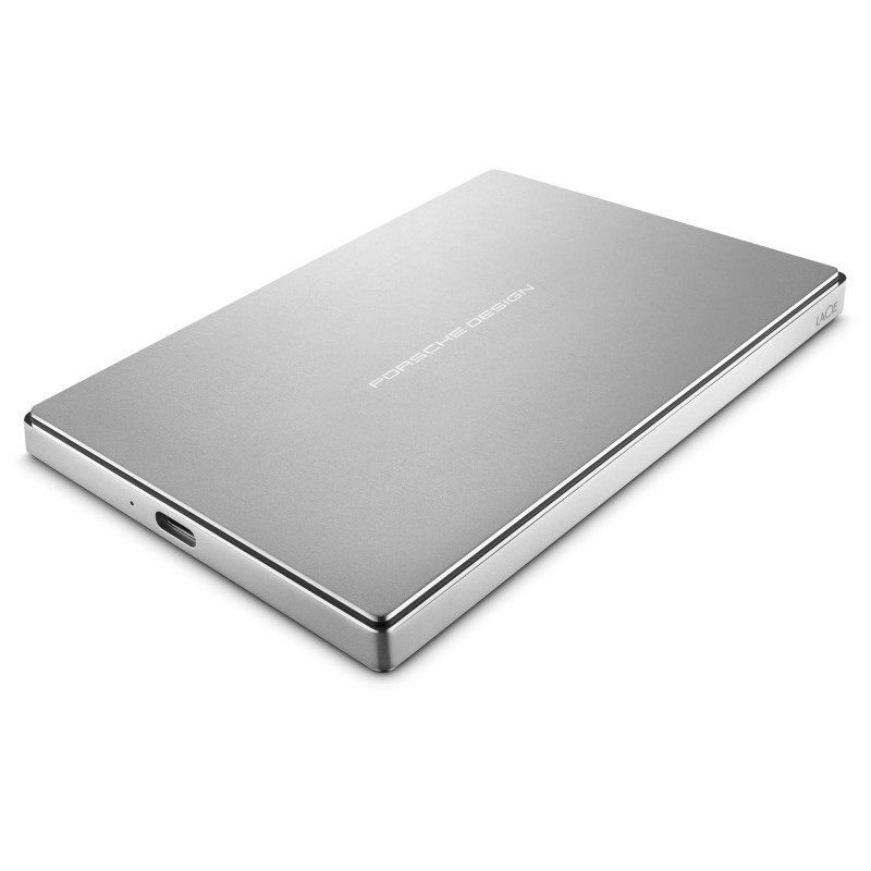 LaCie Porsche Design 1TB USB-C + USB 3.0 Portable External Hard Drive | Ebuyer.com