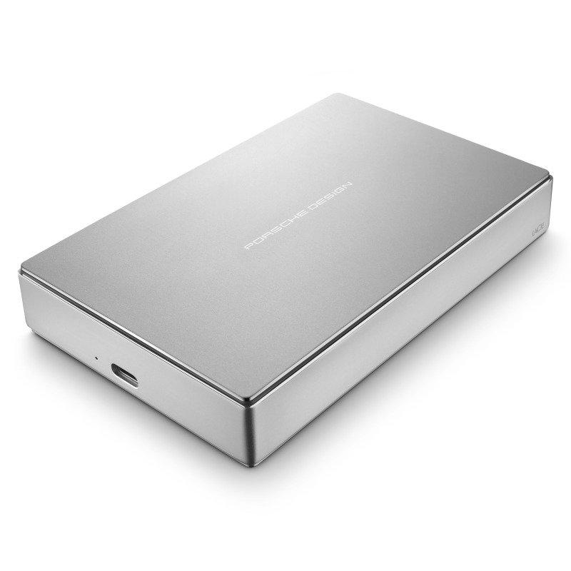 LaCie Porsche Design 4TB USB-C + USB 3.0 Portable External Hard Drive