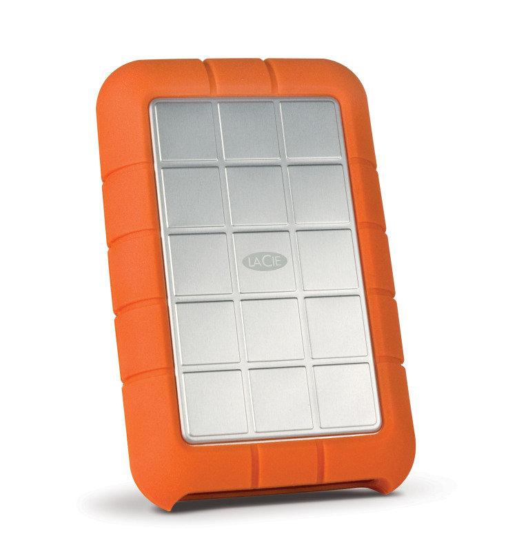 LaCie Rugged Triple 1TB FireWire 800 + USB 3.0 Portable External Hard Drive