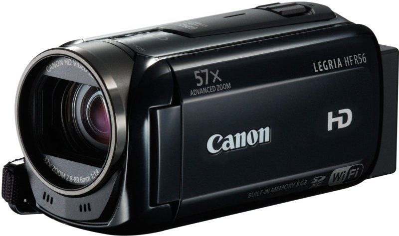 Canon Legria HF R76 Full HD Wireless Camcorder