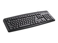 Trust ClassicLine USB UK English Black Keyboard