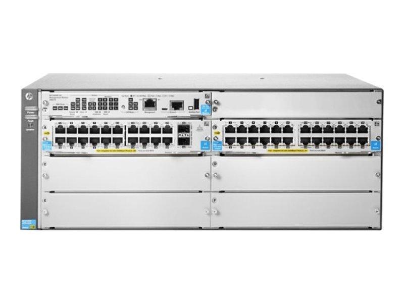 HPE 5406R-44G-PoE+/2SFP+ v2 zl2 44 Port Managed Switch