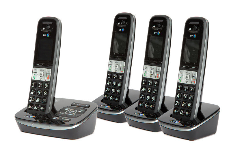 BT 8500 Advanced Call Blocker Dect - Quad - Tam