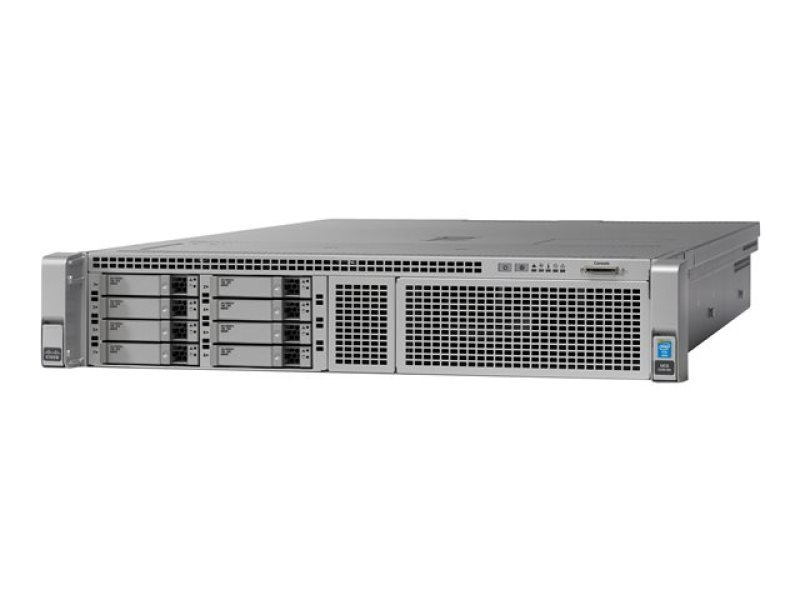 Cisco UCS SmartPlay Select C240 M4S High Core 2 Xeon E5-2680V4 2.4 GHz 64GB RAM 2U Rack Server