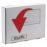 Missive Value Garment Mailing Box Pk20