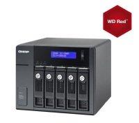 QNAP UX-500P 30TB (5 x 6TB WD RED) 5 Bay NAS Expansion Unit