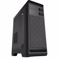 CIT Hero MATX Midi Tower Case with 1 x USB3 No Side Window