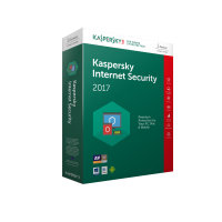 Kaspersky Internet Security 2017 1 Device 1 Year Medialess