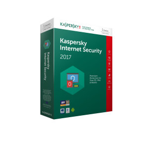 Kaspersky Internet Security 2017 1 Device 1 Year Medialess
