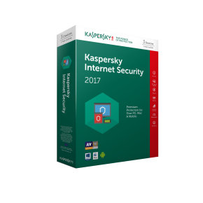Kaspersky Internet Security 2017 3 Device 1 Year Medialess