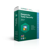 Kaspersky Total Security 2017 10 Device 1 Year Medialess