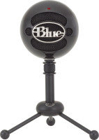EXDISPLAY Blue Snowball Omnidirectional/Cardioid USB Microphone - Black