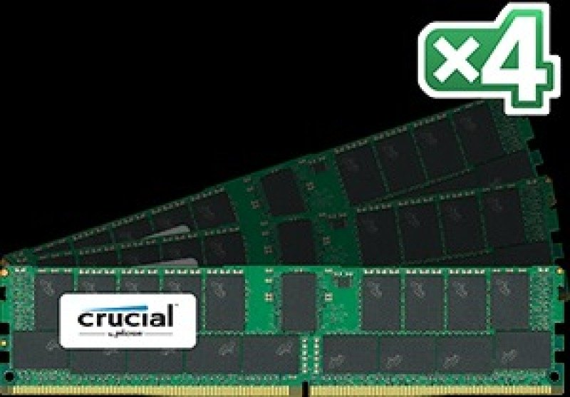 Crucial 128GB Kit Laptop Memory CT4K32G4RFD424A