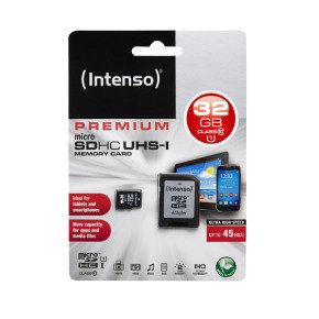 Intenso 32GB UHS-1 Micro SD Memory Card