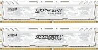 Ballistix Sport LT 16GB DDR4 2400MHz Memory Kit - White BLS2C8G4D240FSC