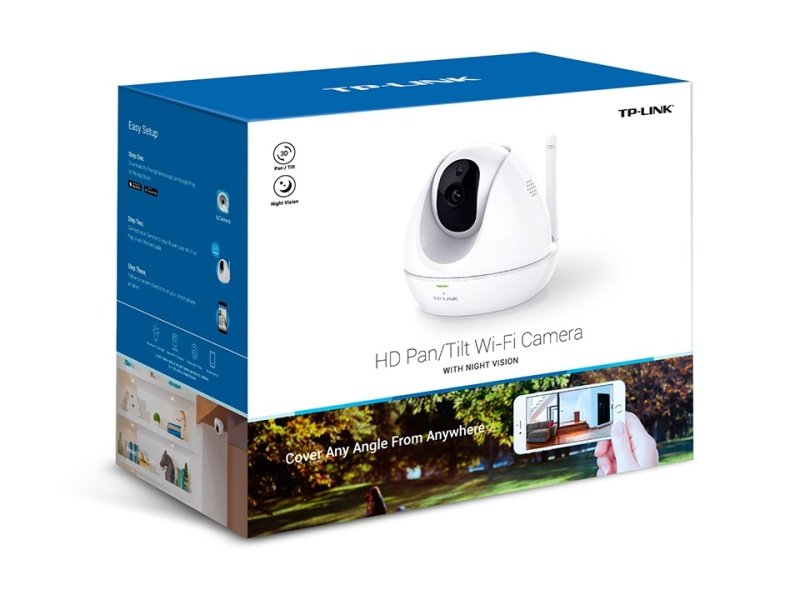 TP-Link HD Pan/Tilt Wi-Fi Camera with night vision