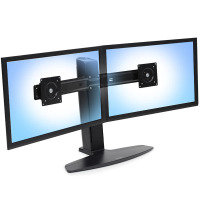 "Ergotron Neo-flex Dual LCD Lift Stand 24"" Monitor"