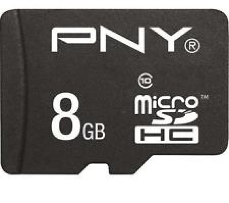 PNY Performance 8GB microSDHC Memory Card