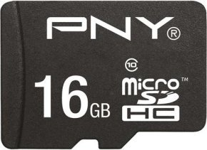 PNY Performance 16GB microSDHC Memory Card